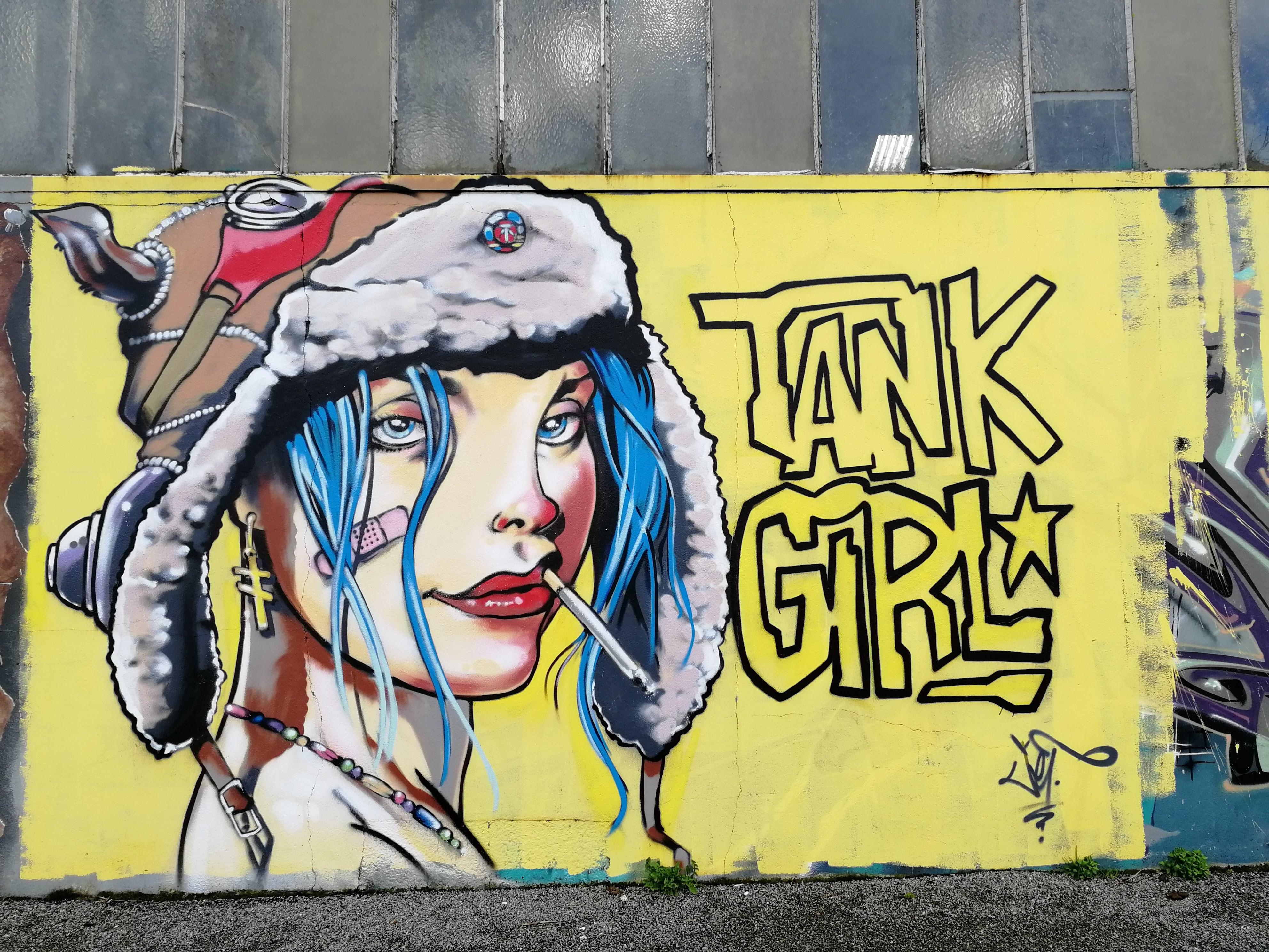 Redon jef tank girl